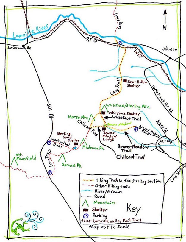Map - Green Mt. Club Sterling Section